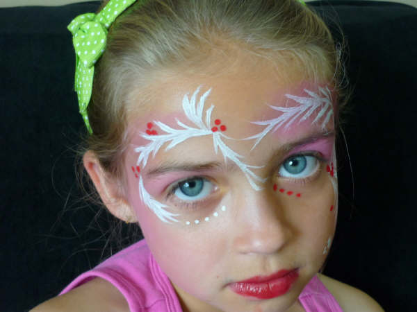Christmas Face Painting - Magazine cover
